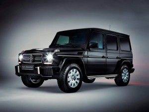 Armored Mercedes G65 LHD