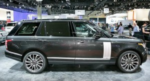 Armored Range Rover V8 Long Wheel 2014 Version 2