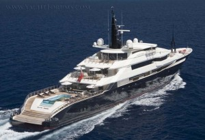 Alfa Nero Megayacht For Charter