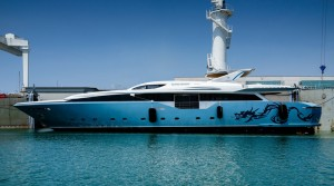 Flying Dragon 45m Admiral for charter